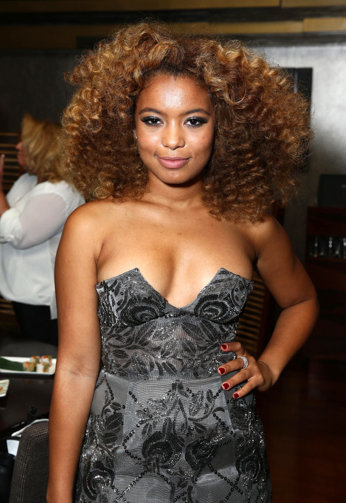 """Jaz Sinclair attends the Screen Gems premiere of """"When the Bough Breaks"""" at Regal Cinemas L.A. Live on Sunday, August 28, 2016, in Los Angeles."""
