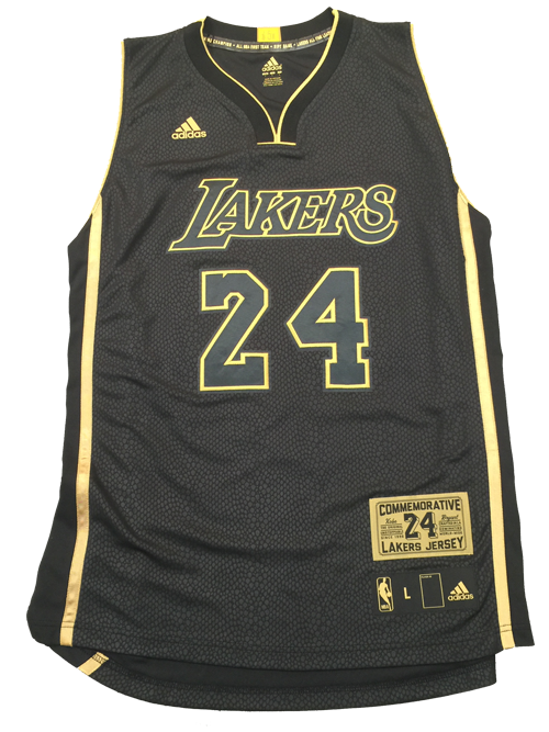 8cdb6917e79 Exclusive Boxed Jersey – Retailing for $824 there are only 248 jerseys made  that have snake print body with Bryant's career accomplishments detailed up  and ...