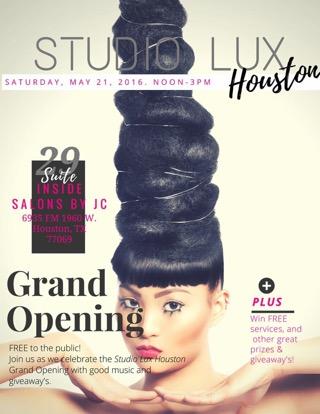 Studio Lux Houston Grand Opening