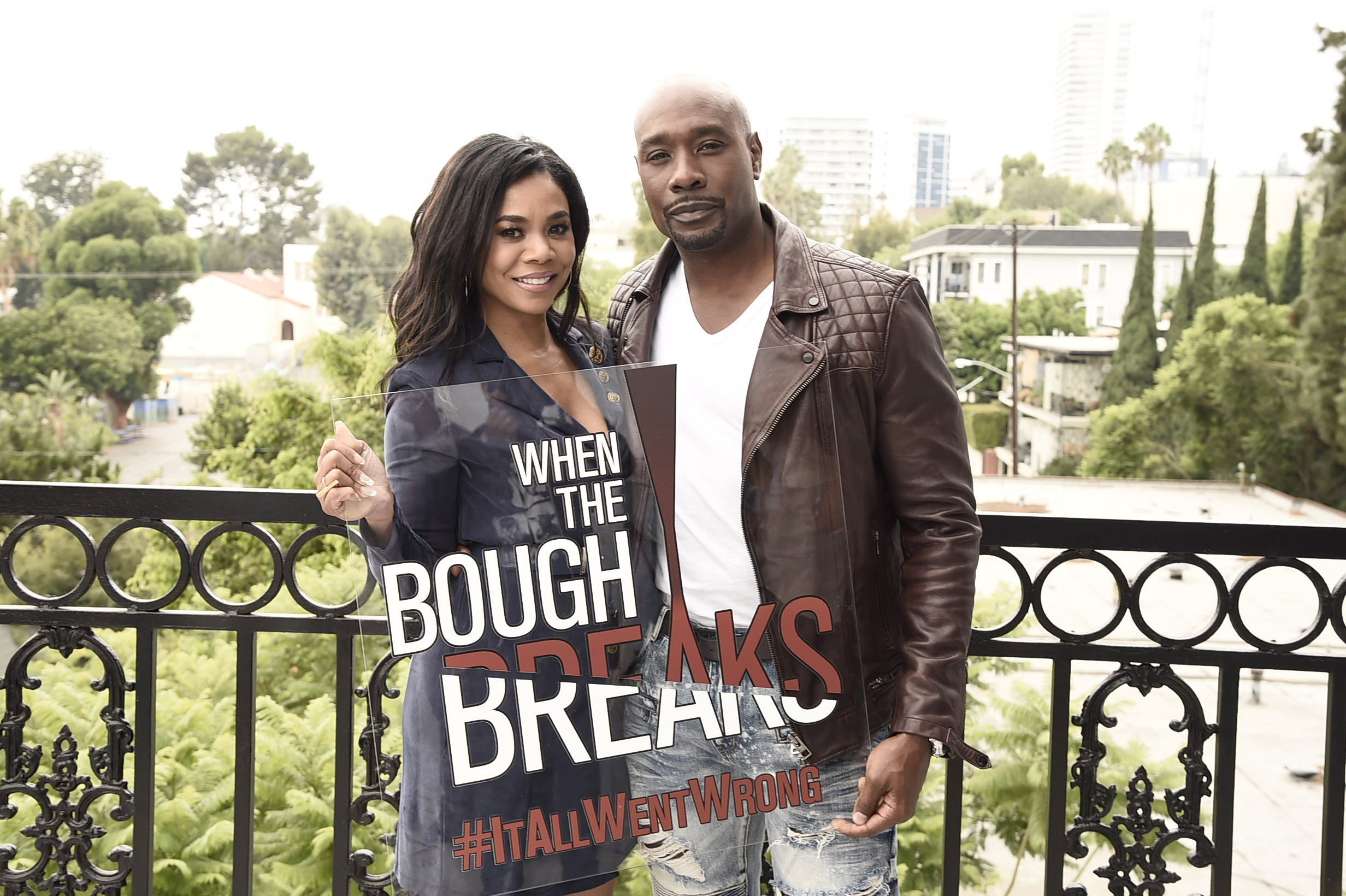 When The Bough Breaks Morris Chestnut & Regina Hall Interview