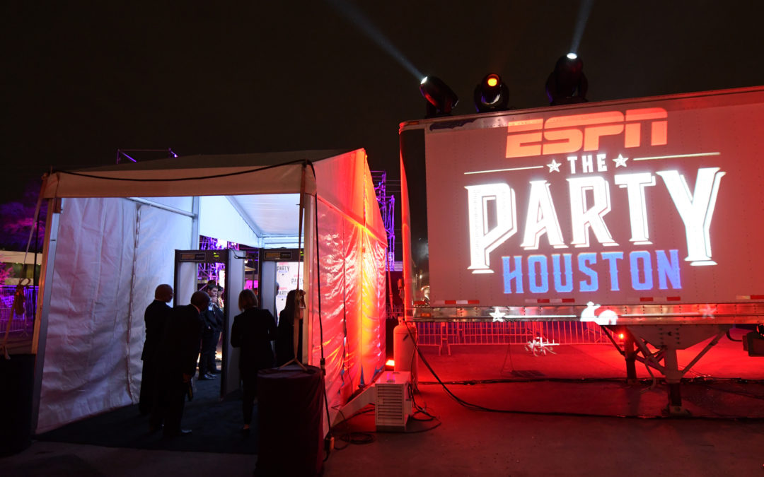 ESPN THE PARTY HOUSTON PHOTO HIGHLIGHTS