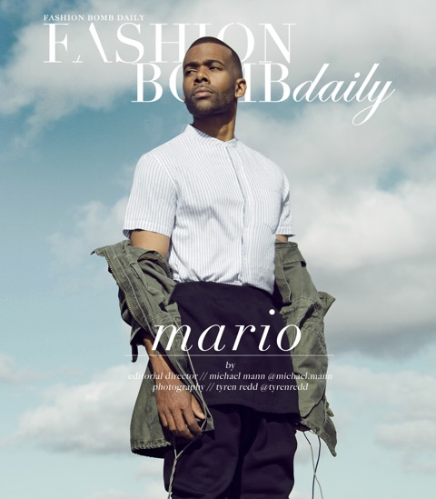 R&B SINGER MARIO FEATURED ON FASHION BOMB DAILY MAGAZINE