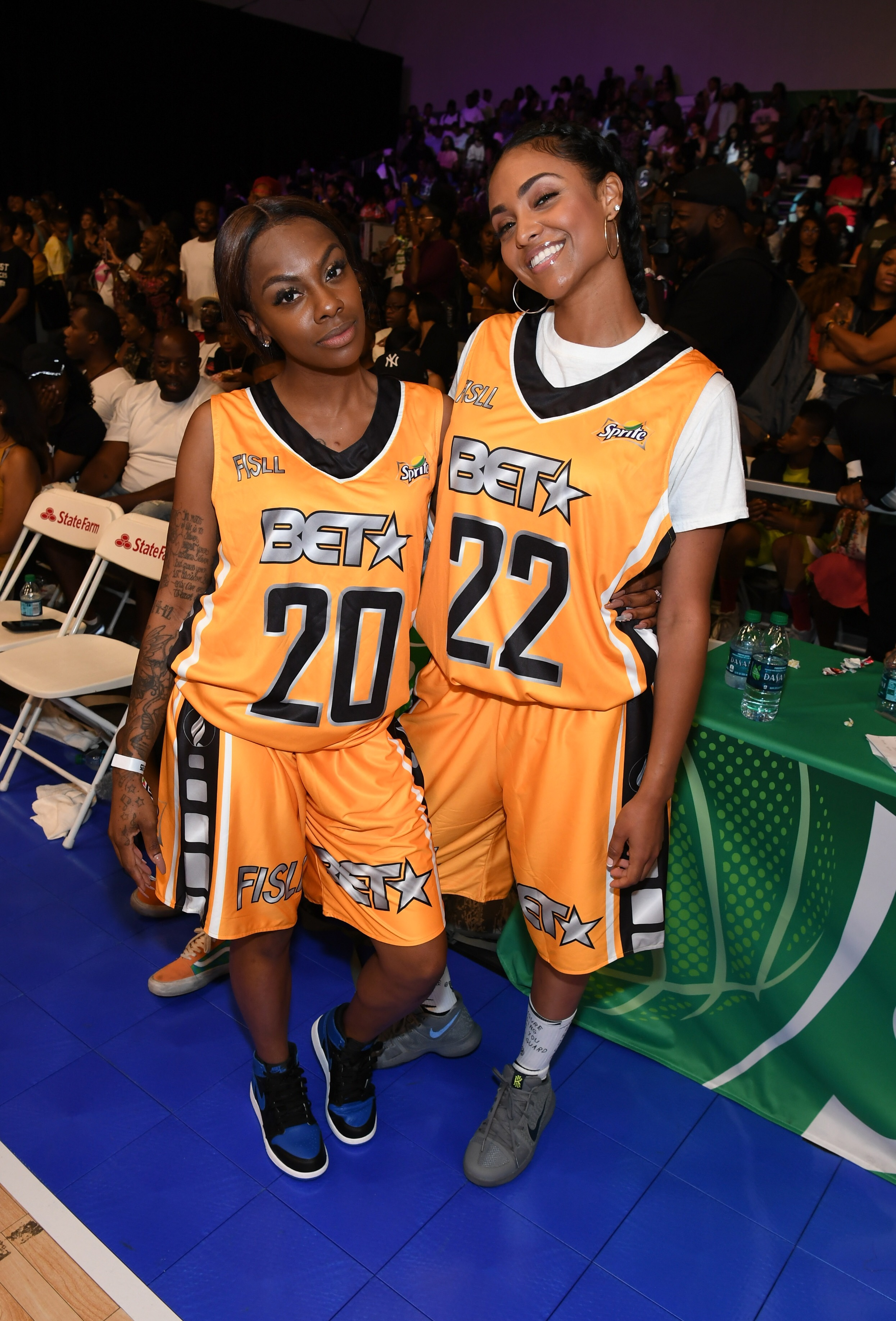 Celebrity basketball games
