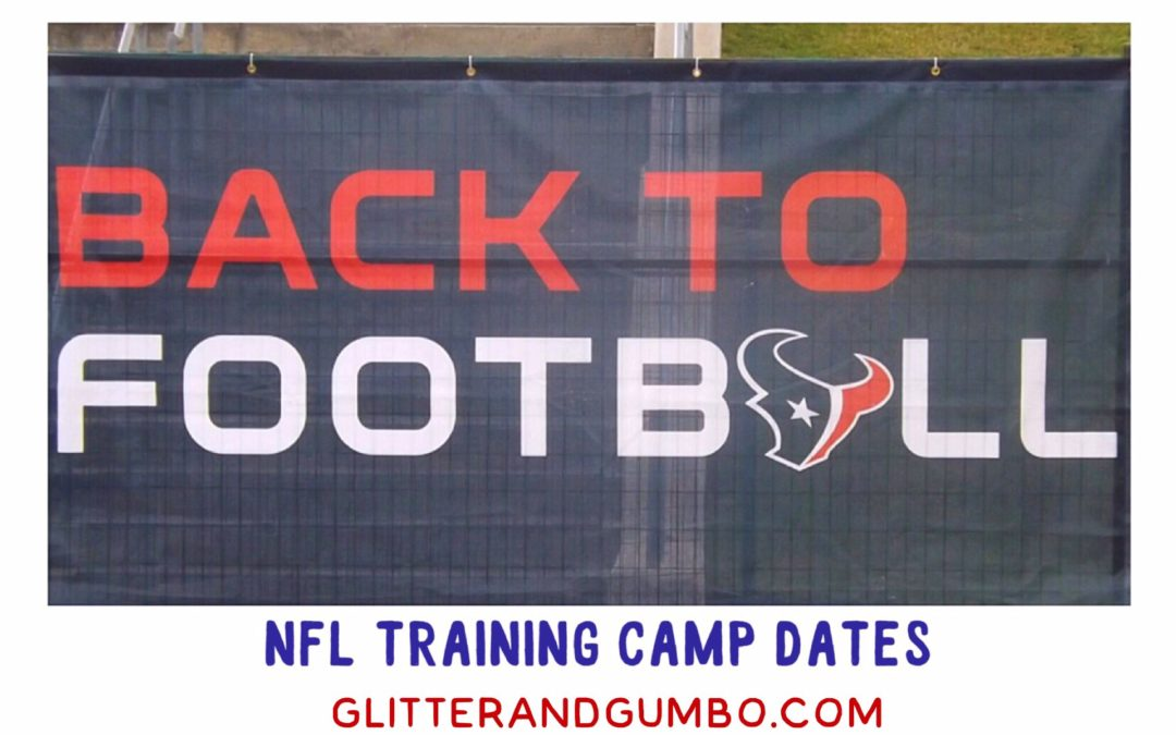 Nfl camp dates in Perth