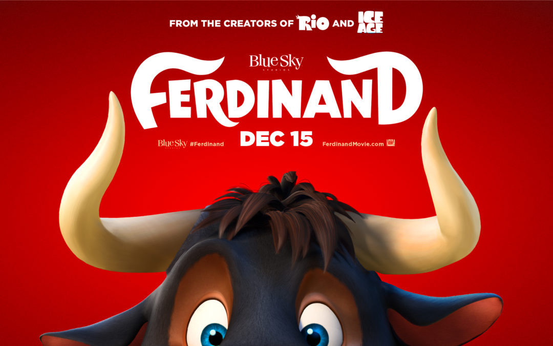20TH CENTURY FOX AND BLUE SKY STUDIOS RELEASE THE FERDINAND TRAILER