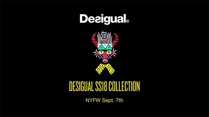 DESIGUAL SPRING/SUMMER 2018 NYFW RUNWAY SHOW