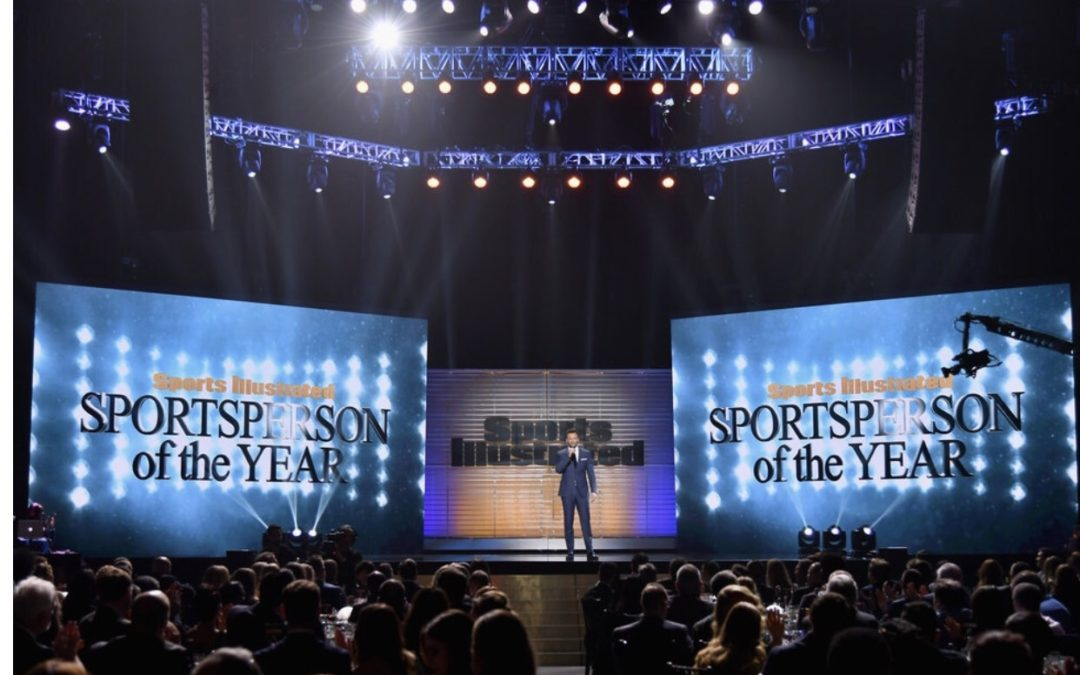 THE SPORTS ILLUSTRATED SPORTSPERSON OF THE YEAR AWARDS PRESENTED BY NBCSN AIRS FRIDAY, DEC. 8 AT 8 P.M. ET