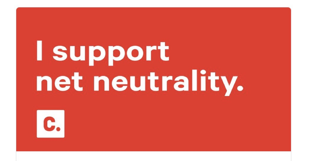 GLITTERANDGUMBO.COM: WE SUPPORT NET NEUTRALITY