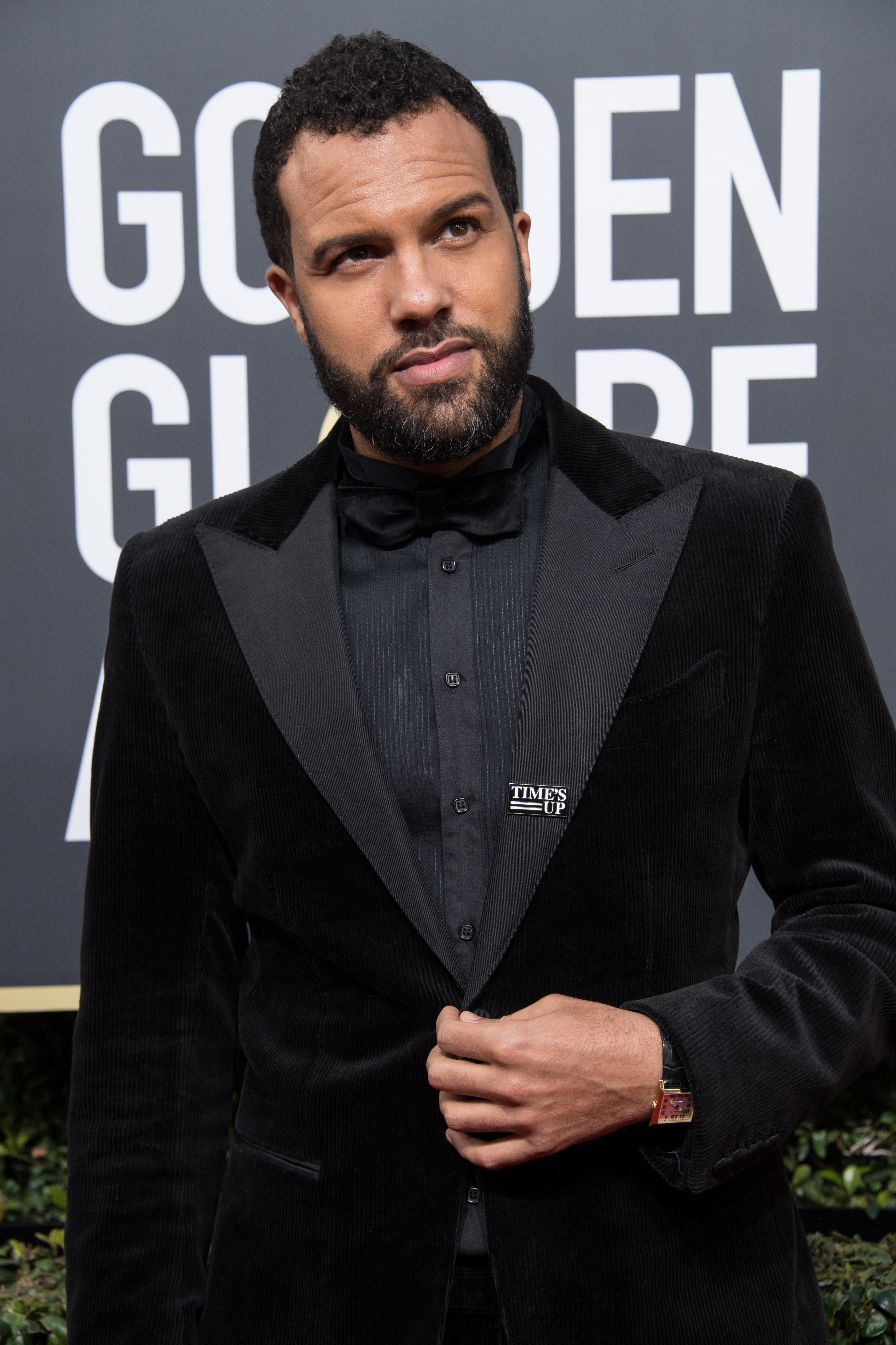O.T. Fagbenle arrives at the 75th Annual Golden Globe Awards at the Beverly Hilton in Beverly Hills, CA on Sunday, January 7, 2018.