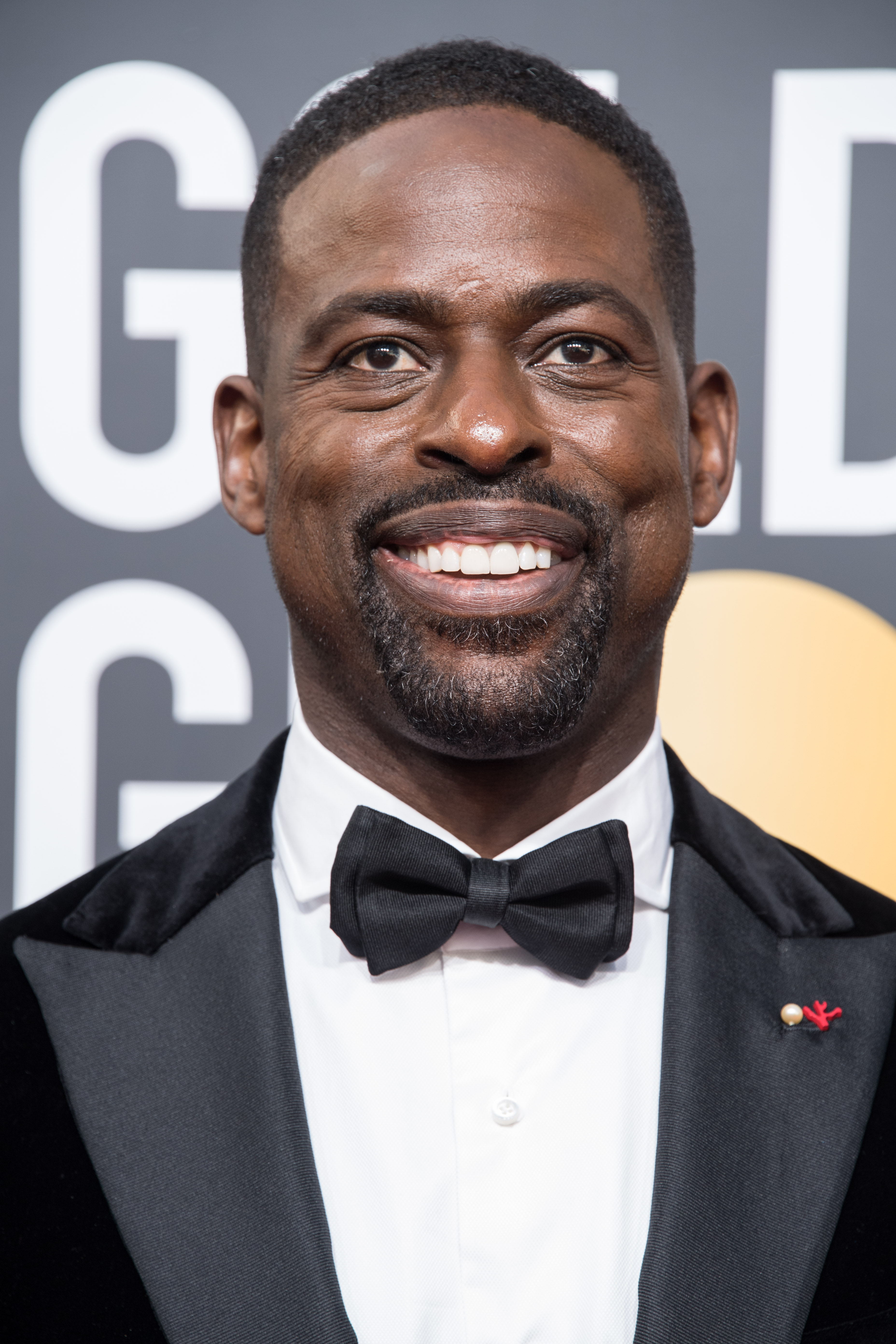 "Nominated for BEST PERFORMANCE BY AN ACTOR IN A TELEVISION SERIES – DRAMA for his role in ""This Is Us,"" actor Sterling K. Brown arrives at the 75th Annual Golden Globes Awards at the Beverly Hilton in Beverly Hills, CA on Sunday, January 7, 2018."