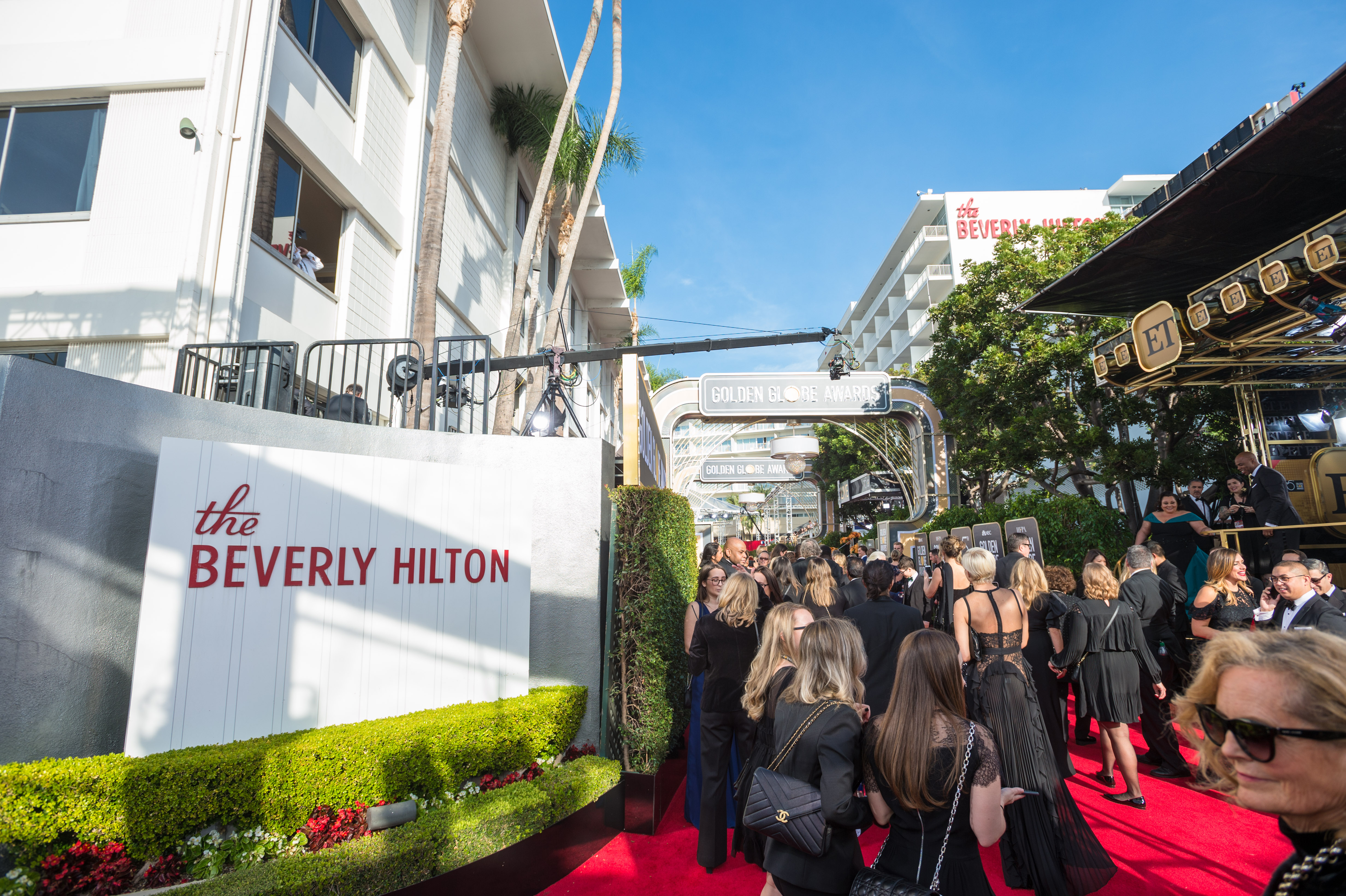 The red carpet at the 75th Annual Golden Globes Awards at the Beverly Hilton in Beverly Hills, CA on Sunday, January 7, 2018.