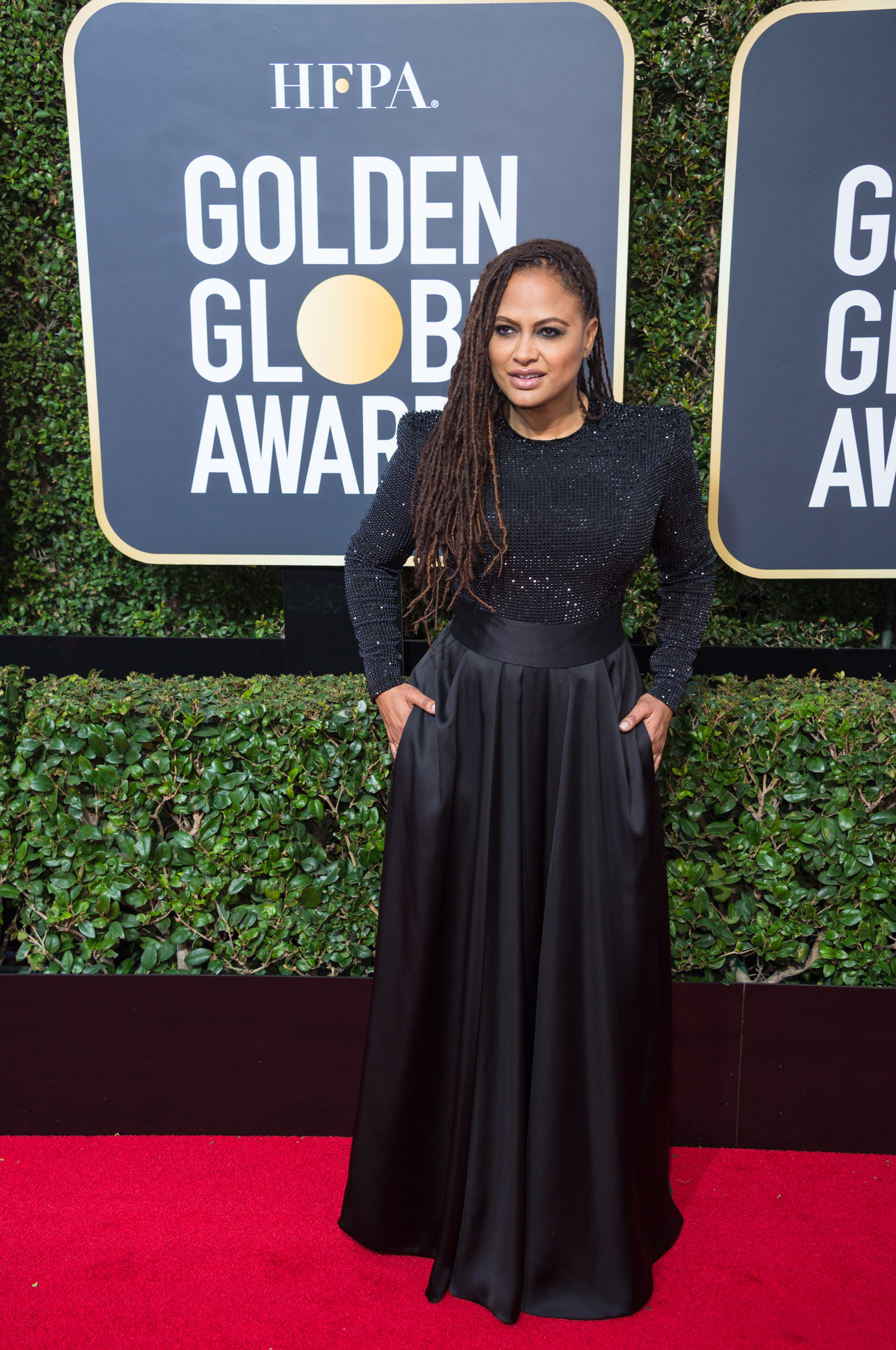 Ava DuVernay attends the 75th Annual Golden Globes Awards at the Beverly Hilton in Beverly Hills, CA on Sunday, January 7, 2018.