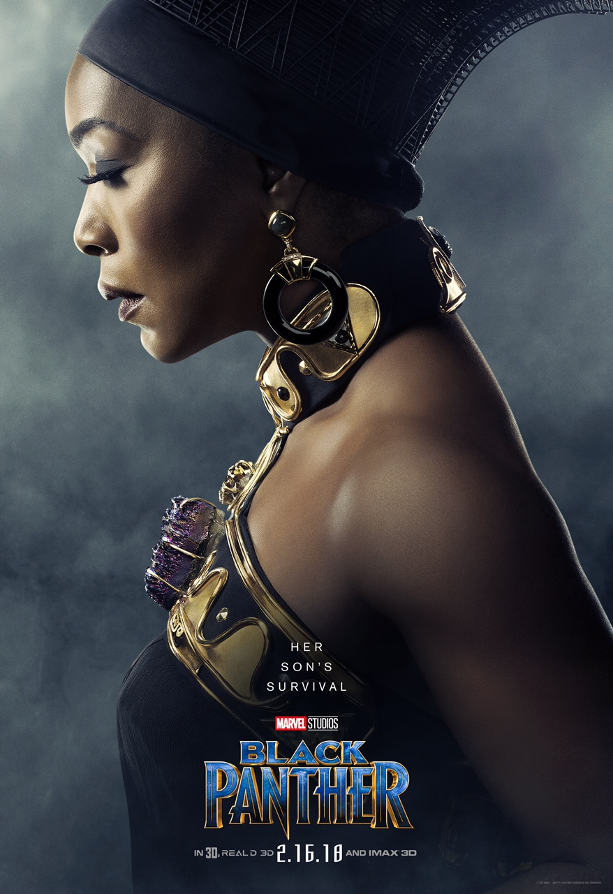 Angela Bassett is Ramonda