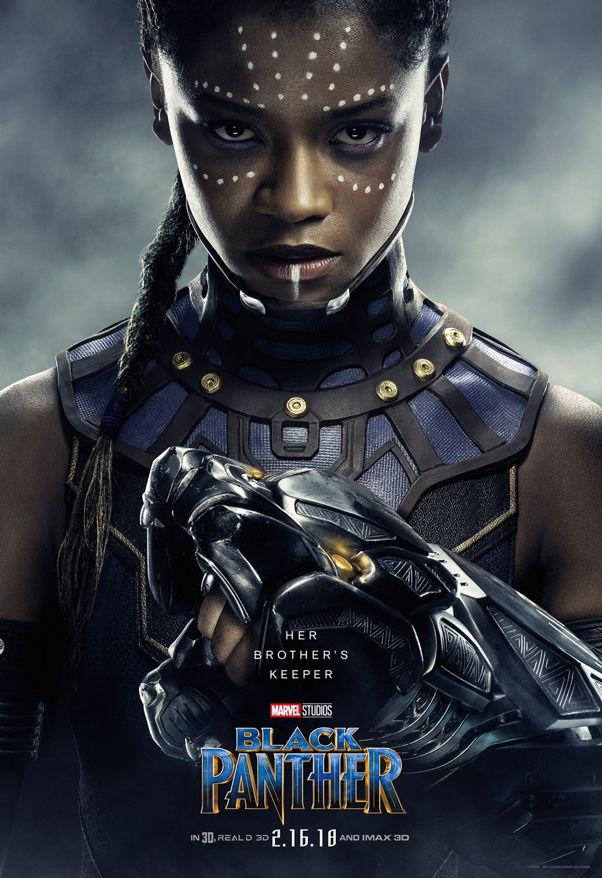 Letitia Wright is Shuri