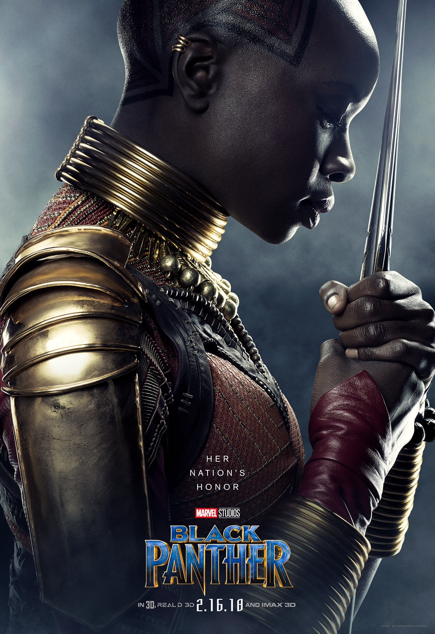 Danai Gurira is Okoye
