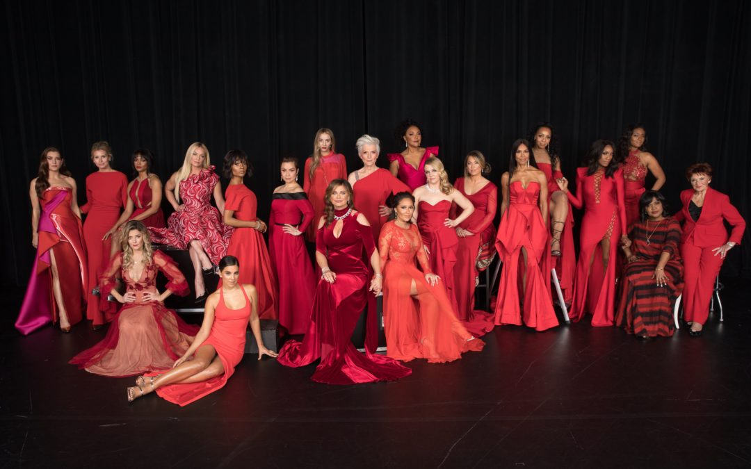 THE AMERICAN HEART ASSOCIATION'S GO RED FOR WOMEN RED DRESS COLLECTION 2018